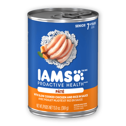 IAMS™ SENIOR WITH SLOW COOKED CHICKEN AND RICE PATÉ