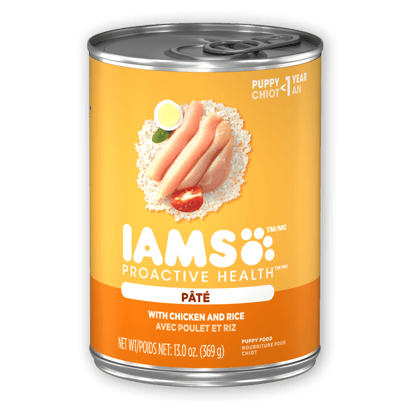 IAMS™ PUPPY WITH CHICKEN AND RICE PATÉ