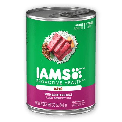 IAMS™ ADULT WITH BEEF AND RICE PATÉ